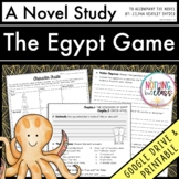 Egypt Game Novel Study Unit: comprehension, vocabulary, activities, tests