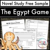 The Egypt Game Novel Study Unit: FREE Sample