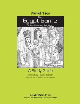 Egypt Game - Novel-Ties Study Guide