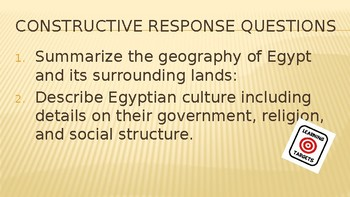 Egypt Geography, Culture, and The Old Kingdom PowerPoint Lecture