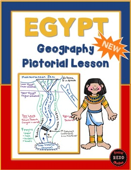 Egypt Geography Pictorial Lesson