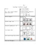 Egypt Hieroglyphics Graphic Organizer Picture and Word