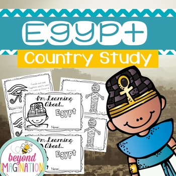 Egypt Country Study | 48 Pages for Differentiated Learning + Bonus Pages by Beyond Imagination