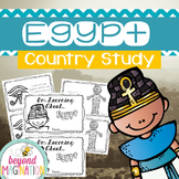 Egypt Country Study | 48 Pages for Differentiated Learning + Bonus Pages