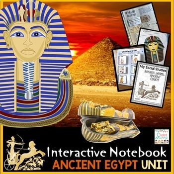 Ancient Egypt Interactive Notebook | Distance Learning Covid-19
