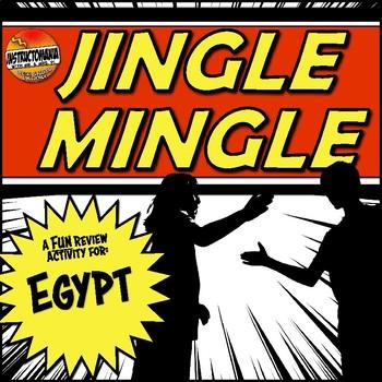 Egypt Jingle Mingle Fun Class Review Activity