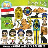 Egypt Kids Clipart Set {Zip-A-Dee-Doo-Dah Designs}