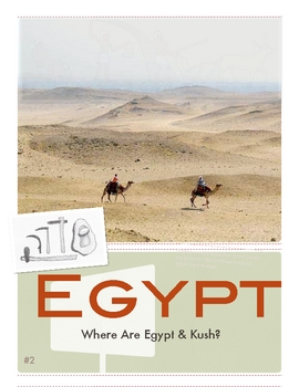 Egypt & Kush: Where Are They? (Geography) by Don Nelson