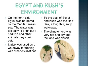 Egypt, Kush and Canaan: Geography