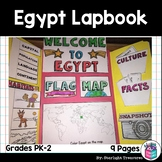 Egypt Lapbook for Early Learners - A Country Study
