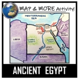 Egypt Map Activity- Ancient Egypt (Color and Label!)