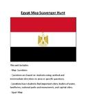Egypt Map Scavenger Hunt