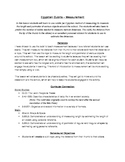 Egypt - Measuring in Cubits (Social Studies & Math Integra