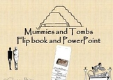 Egypt Mummies and Tombs Flip book and Power Point Lapbook