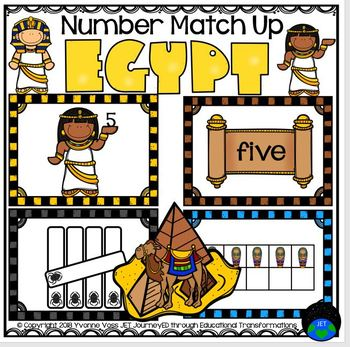 Egypt Number Match Up