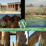 Egypt Photo Clip Art Sampler