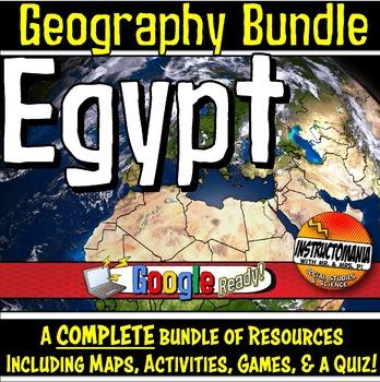 Egypt Physical Geography Mini Bundle