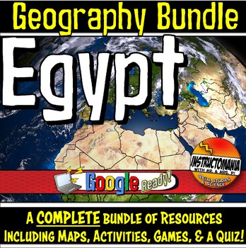 Egypt Physical Geography Mini Bundle