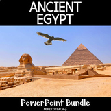 Ancient Egypt PowerPoint Lessons and Sarcophagus Project BUNDLE