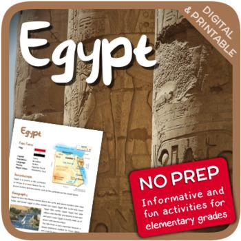 Egypt (Fun stuff for elementary grades)