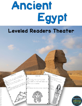 Ancient Egypt Reader's Theater {Leveled}