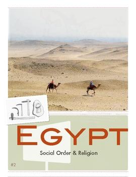 Egypt: Religion- Social & Political Order by Don Nelson