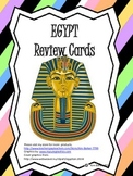 Egypt Review Cards