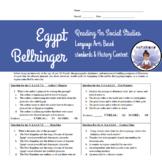 Reading in Social Studies Bellwork: Egypt- SS.6.W.2.5