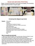 Egypt Study Lap-Book