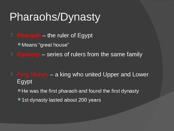 Egypt The Old Kingdom