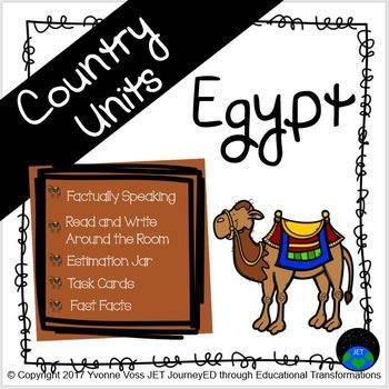 Second and Third Grade Egypt Unit