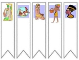 Egypt Unit Bookmarks and Name Tags