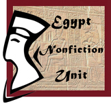 Egypt Unit Focused on Nonfiction Reading Skills and based on History Alive! Text