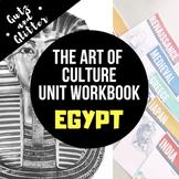 Egypt Unit Workbook - The Art of Culture