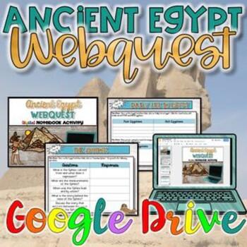 Ancient Egypt WebQuest {Digital}