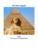 Egypt Webquest: A Guided Study of Primary and Secondary Sources