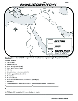 Ancient Egypt Map Worksheet Answers.Egypt Where In The World Scavanger Hunt Map Activity Physical