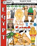 Egypt - Wonderful World Clip Art Download - Distance Learning