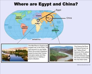 Egypt and China - A Second Grade SMARTboard Introduction
