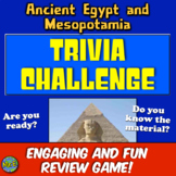 Egypt and Mesopotamia Review! Students Play Jeopardy-like Game to Review!