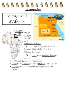Égypte Ancienne: FULL UNIT PLAN
