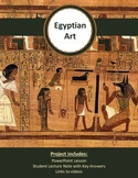Distance Learning Art - Egyptian Art History Lesson