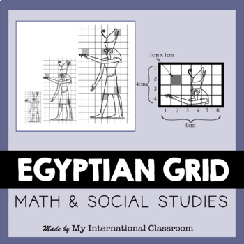 Egyptian Art Wall Painting Grid Lesson Plan Powerpoint Handout Rubric