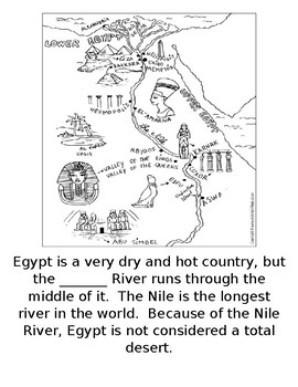 Egyptian Booklet for Second Grade