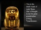 Egyptian Burial Masks PPT