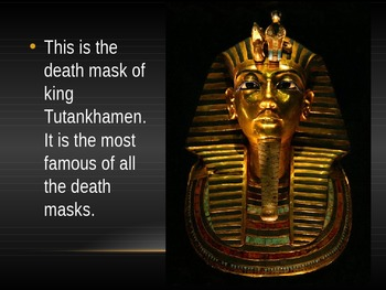 Egyptian Burial Masks PPT
