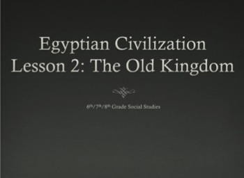 Egyptian Civilization: The Old Kingdom