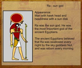 Egyptian Deities and the Ten Plagues