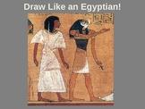 Egyptian Drawing & Hieroglyphics
