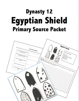 Egyptian Dynasty Shield Artifact Primary Source Packet